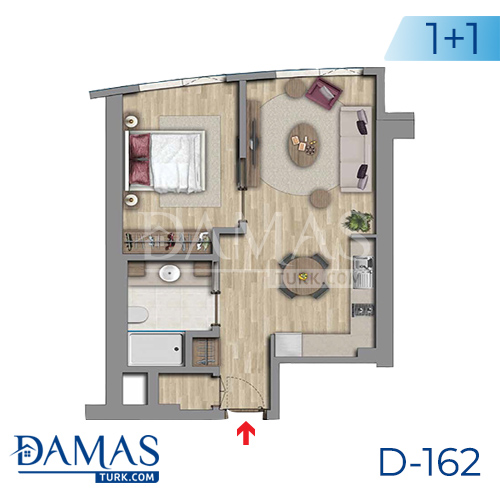 Damas Project D-162 in Istanbul - Floor plan picture 03