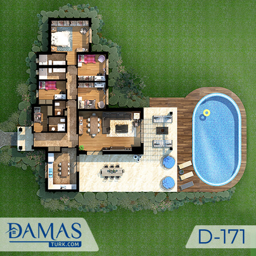 Damas Project D-171 in Istanbul - Floor plan picture  03
