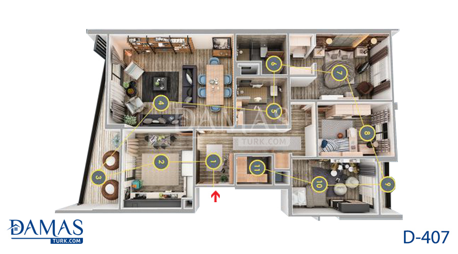 Damas 407 Project - Floor Plan 04