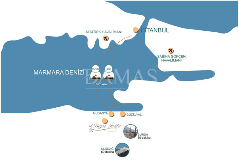 Damas 202 Project in bursa - Floor plan 04