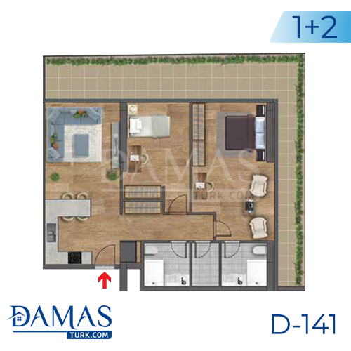 Damas Project D-141 in Istanbul - Floor plan picture 04