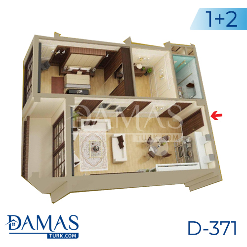 Damas Project D-371 in Yalova - Floor plan picture 04