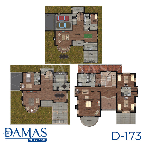 Damas Project D-173 in Istanbul - Floor plan picture  04