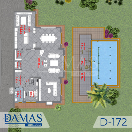 Damas Project D-172 in Istanbul -Floor plan picture  04