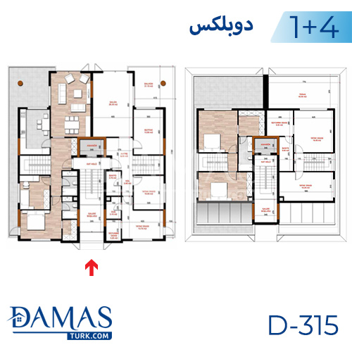 Damas Project D-315 in Bursa - Floor plan picture  04