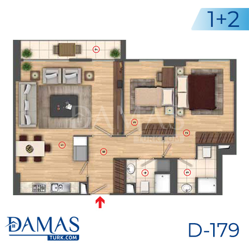 Damas Project D-179 in Istanbul - interior picture  04