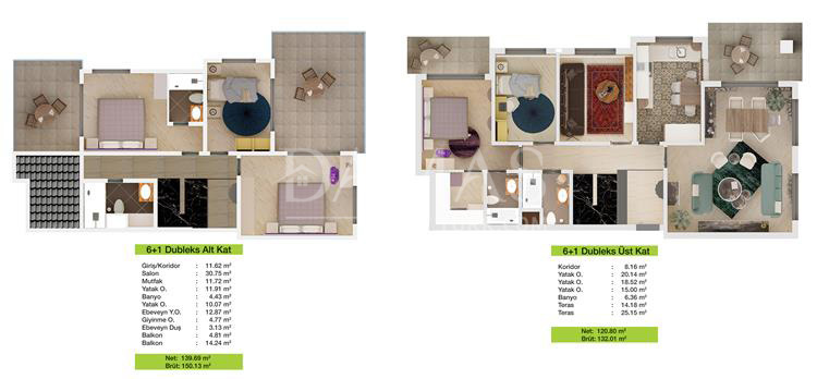 Damas 203 Project in Bursa - Floor Plan 04