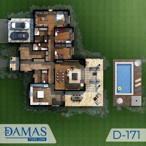 Damas Project D-171 in Istanbul - Floor plan picture  04