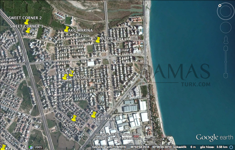 Damas 601 Project in Antalya - Plan picture 05