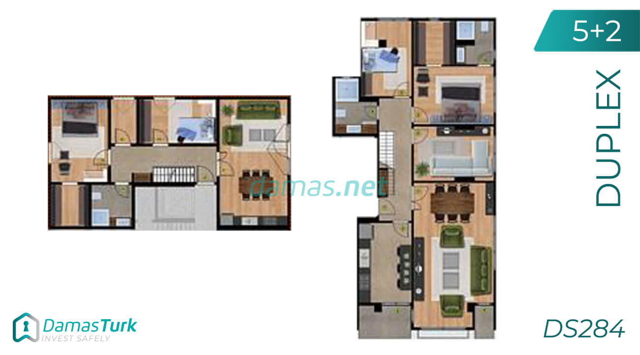 A complex of ready to move apartments and shops in Istanbul European area, Beylikdüzü DS284 || damas.net 03
