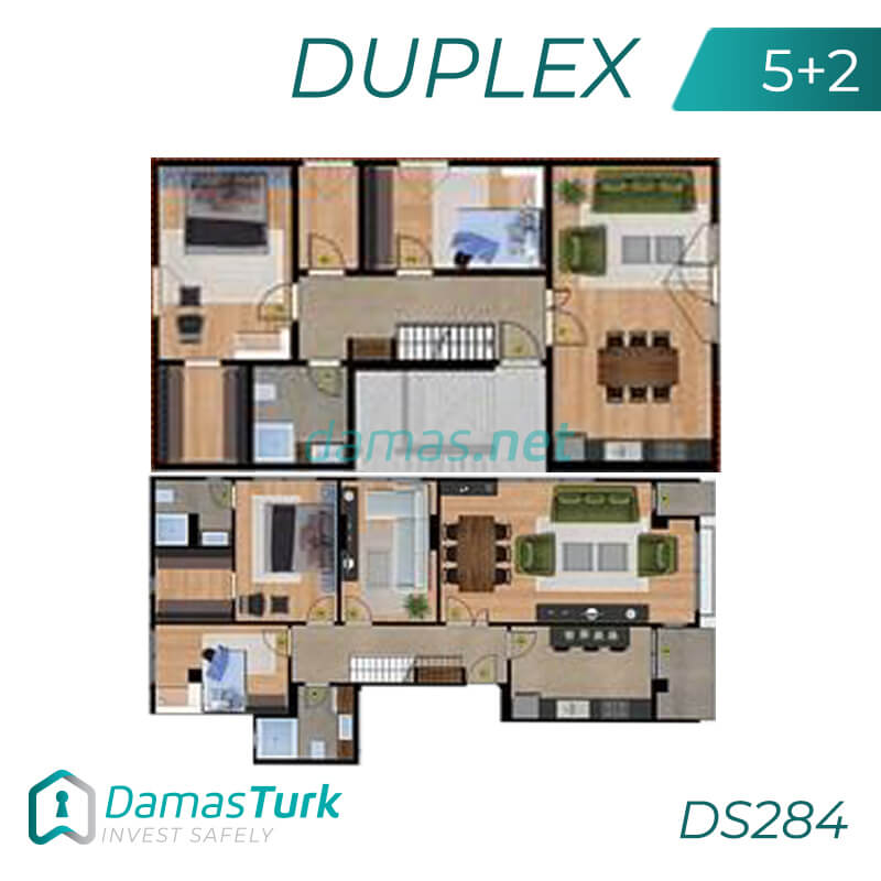 A complex of ready to move apartments and shops in Istanbul European area, Beylikdüzü DS284    damas.net 03