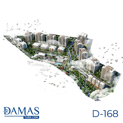 Damas Project D-168 in Istanbul - Floor plan picture  05