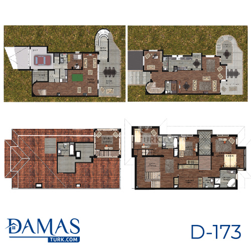 Damas Project D-173 in Istanbul - Floor plan picture  05