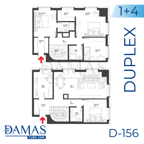 Damas Project D-156 in Istanbul - Floor plan picture 05