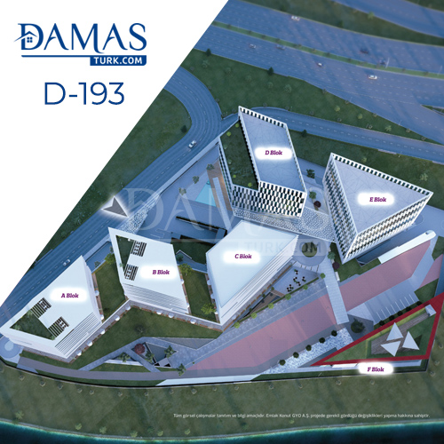 Damas Project D-193 in Istanbul - Floor plan picture  05