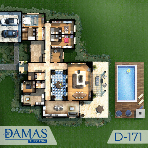 Damas Project D-171 in Istanbul - Floor plan picture  05