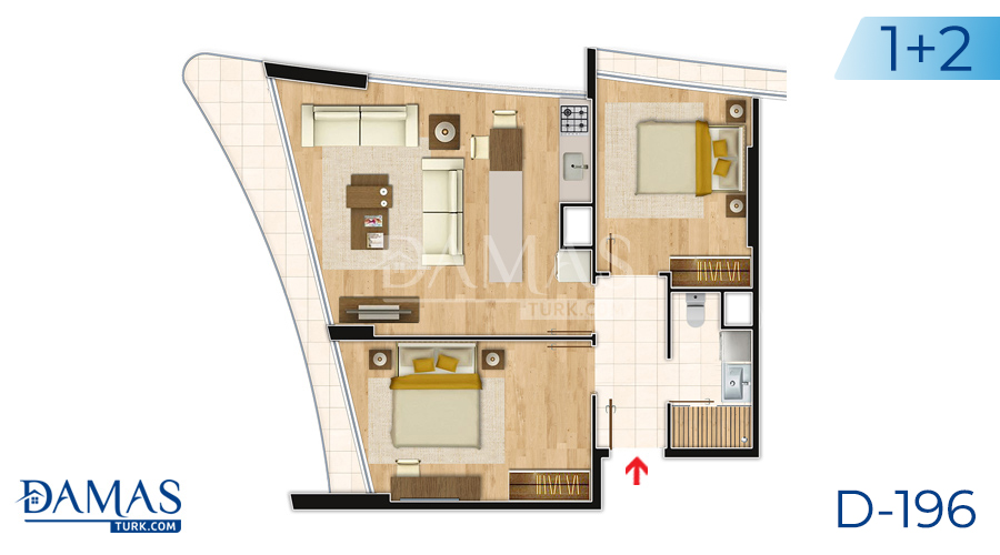 Damas Project D-196 in Istanbul - Floor plan picture  05