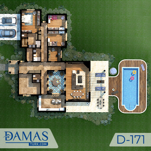 Damas Project D-171 in Istanbul - Floor plan picture  06