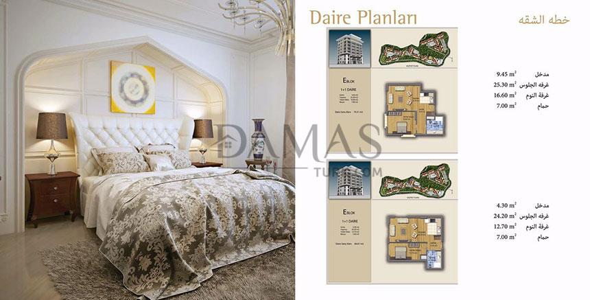 Damas 401 Project in Trabzon - Plan picture 08