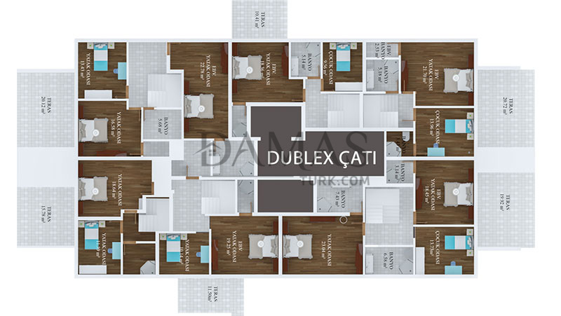 Damas 406 Project in Trabzon - Floor Plan 09
