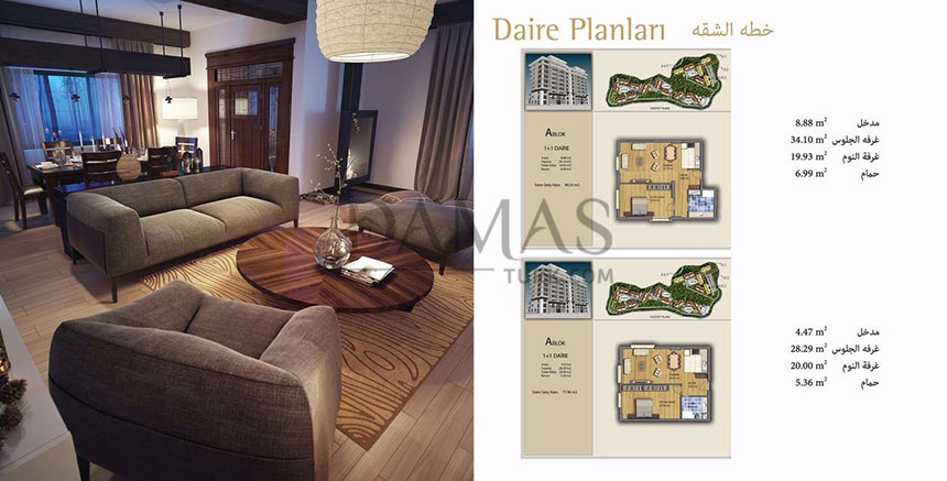Damas 401 Project in Trabzon - Plan picture 09