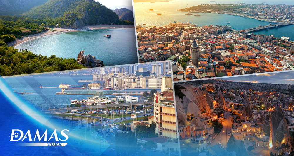 The best places in Turkey .. 4 tourist cities